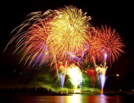 GlobalFest Fireworks Contest in Calgary