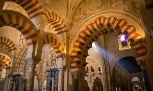 Visiting the Mezquita in Cordoba