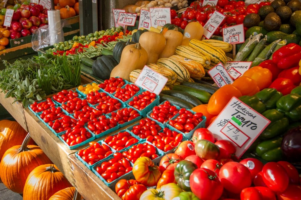 Shop the Farmers' Market in Penticton