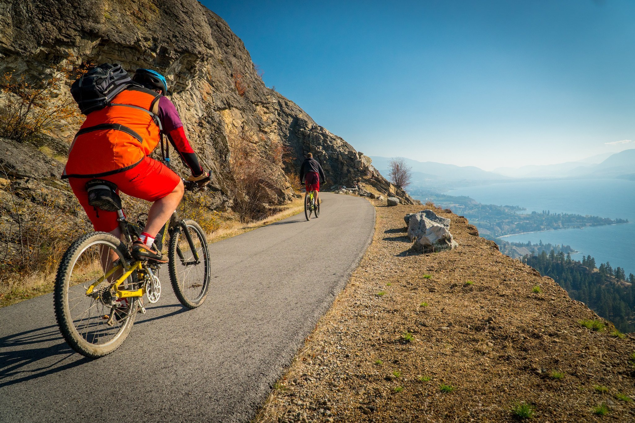 Bike the KVR in Penticton