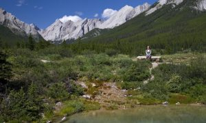 Hike: Johnston Canyon to the Ink Pots